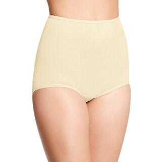 Bali Women's Skimp Skamp Moonlight Nude Nylon/Spandex/Cotton Brief Panty (Option: 6)