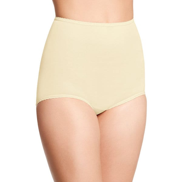 Bali Women's Skimp Skamp Moonlight Nude Nylon/Spandex/Cotton Brief Panty