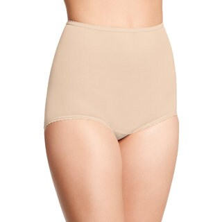 Ball Women's Skimp Skamp Mocha Mist Nylon, Spandex and Cotton Brief Panty