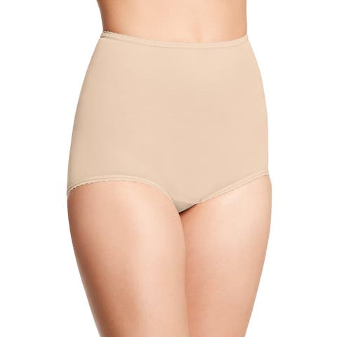 Ball Women's Skimp Skamp Mocha Mist Nylon, Spandex and Cotton Brief Panty