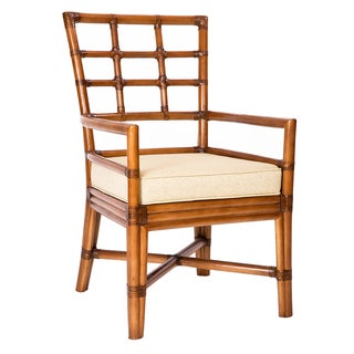 Chelsea Wood/Rattan Arm Chair