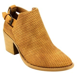 Qupid Women's Ankle Booties
