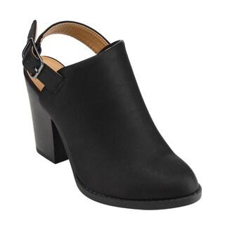 Delicious Women's Faux Leather Platform Ankle Bootie