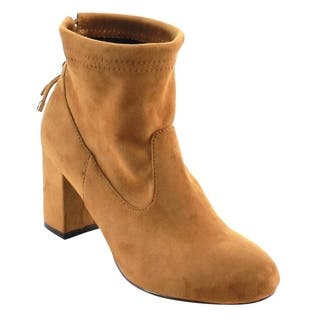 Beston FC76 Women's Ankle Tie-up Block Heel Ankle Booties One Size Small|https://ak1.ostkcdn.com/images/products/12142891/P18998358.jpg?impolicy=medium