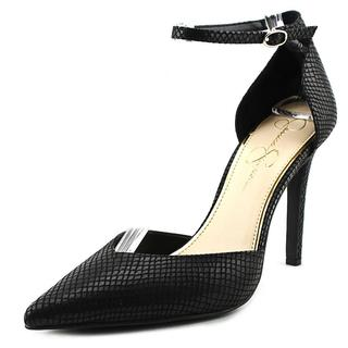 Jessica Simpson Women's 'Cirrus' Black Fabric Dress Shoes