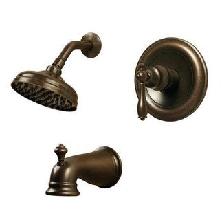 Pegasus Estates WaterSense 1-Handle Tub and Shower Faucet in Heritage Bronze