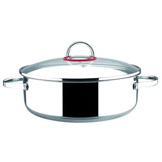 Nova Stainless Steel Glass Lid Stockpot