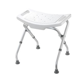 Croydex Adjustable Bath and Shower Seat in White