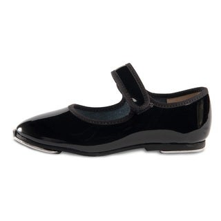 Danshuz Girl's Black Tap Shoes