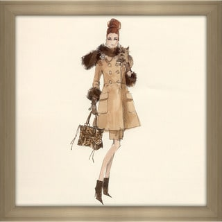 Robert Best 'Spotted Shopping Barbie Doll 2005' Framed Fashion Wall Decor