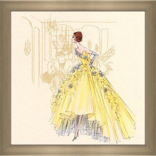 Robert Best 'Violette Barbie Doll 2006' Framed Plexiglass Fashion Wall Decor