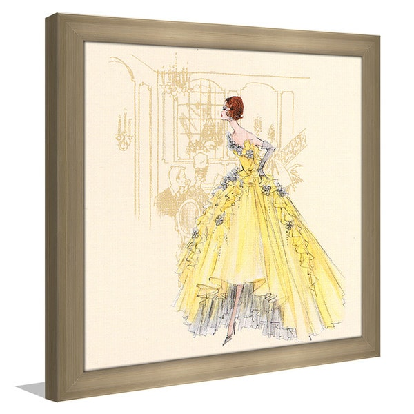 Robert Best \'Violette Barbie Doll 2006\' Framed Plexiglass Fashion ...