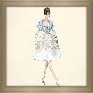 Robert Best 'Party Dress Barbie Doll' Framed Fashion Wall Decor