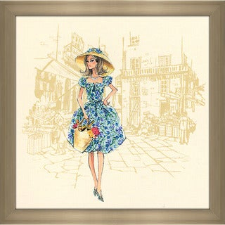 Robert Best 'Market Day Barbie Doll (2008)' Framed Fashion Wall Decor