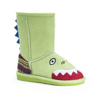Muk Luks Kid's Rex Dinosaur Boots