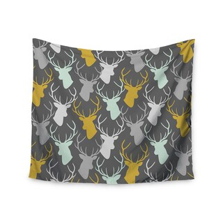 Kess InHouse Pellerina Design 'Scattered Deer' 51x60-inch Wall Tapestry