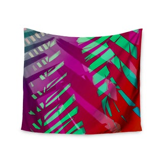 "Kess InHouse Alison Coxon ""Hot Tropical"" Pink Red Wall Tapestry 51'' x 60''"