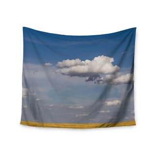 """Kess InHouse Ann Barnes """"Big Sky"""" Clouds Wall Tapestry 51'' x 60''"""