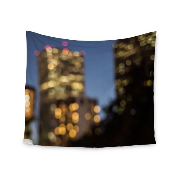 "Kess InHouse Ann Barnes ""NOLA at Night"" City Lights Wall Tapestry 51'' x 60''"