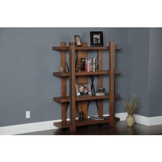 Four-shelf 60-inch x 48-inch Industrial Bookcase