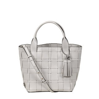 Michael Kors Vivian Optic White Medium Tote Bag