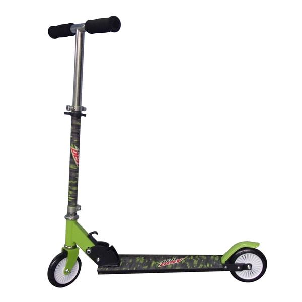 Mountain Dew Aluminum/Metal/Plastic Kick Scooter