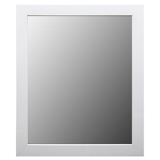 white frame bathroom mirror white mirrors shop the best deals for apr 2017 21529