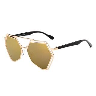 Dasein Trendy Pentagon Sunglasses