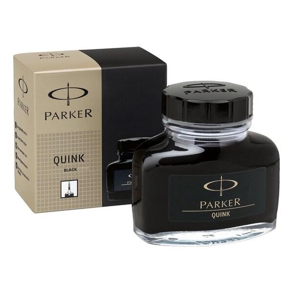 Parker Super Quink Permanent Black Ink Refill in 2-ounce Bottle