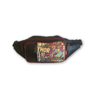 Marvel Retro Comic Black Faux-leather/Polyester Fanny Pack