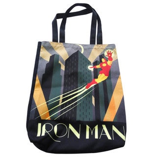 Marvel Decodant Iron Man Canvas Shopper Tote Bag