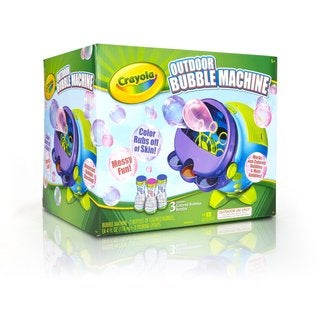 Crayola Colored Outdoor Bubbles Machine