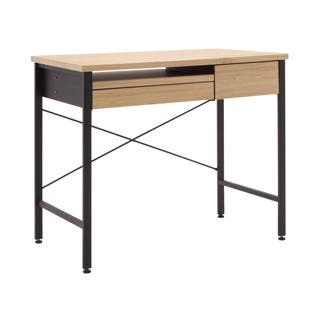 Calico Ashwood Oak MDF/ Metal Compact Desk|https://ak1.ostkcdn.com/images/products/12143978/P18999397.jpg?impolicy=medium