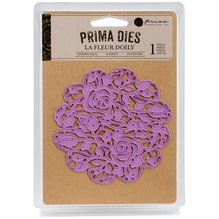 Prima Marketing Purple Metal Die La Fleur Doily