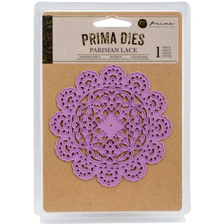 Prima Marketing Purple Metal Die Parisian Lace