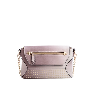 Mellow World Raina Faux Leather Studded Clutch