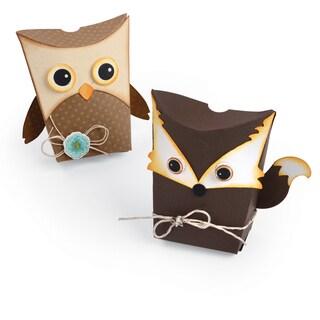 Sizzix Thinlits Dies 7/Pkg Owl & Fox Box