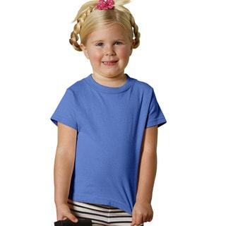 Girls' Iris Cotton 5.5-ounce Jersey Short-sleeved T-shirt