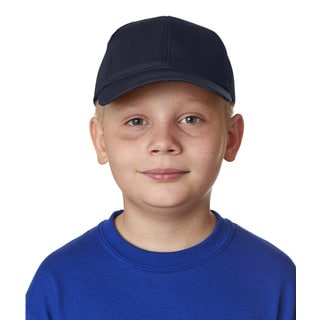 Classic Cut Boys' Navy Cotton Twill 6-Panel One Size Fits All Cap