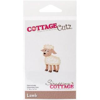 "CottageCutz Die Lamb 1""X1.4"""