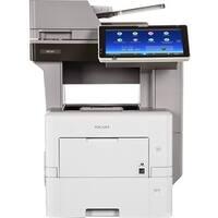 Ricoh MP 601SPF Laser Multifunction Printer - Monochrome - Plain Pape