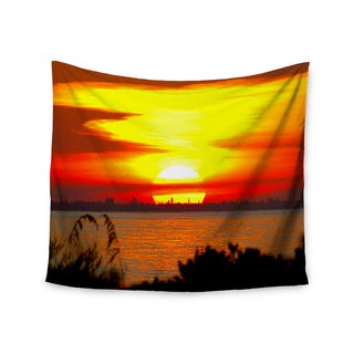 Kess InHouse Philip Brown 'Sunrise On Sanibel' 51x60-inch Wall Tapestry