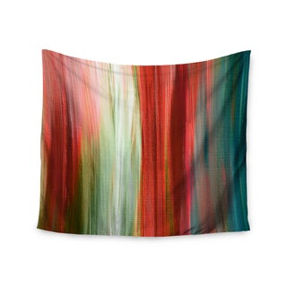 KESS InHouse Ebi Emporium 'Irradiated Multi 1' Red Olive 51x60-inch Tapestry