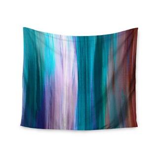 KESS InHouse Ebi Emporium 'Irradiated Multi 3' Teal Lavender 51x60-inch Tapestry