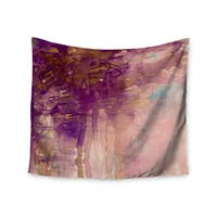 KESS InHouse Ebi Emporium 'Carnival Dreams 4' Purple Brown 51x60-inch Tapestry