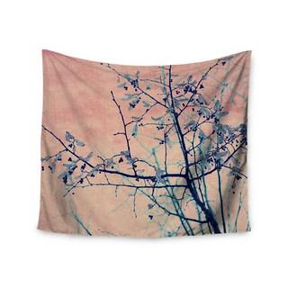 KESS InHouse Ingrid Beddoes 'Sweetgum Tree' Pink Nature 51x60-inch Tapestry
