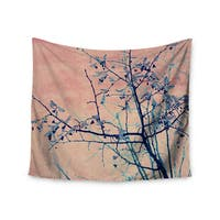 KESS InHouse Ingrid Beddoes 'Sweetgum Tree' Pink Nature 51x60-inch Tapestry