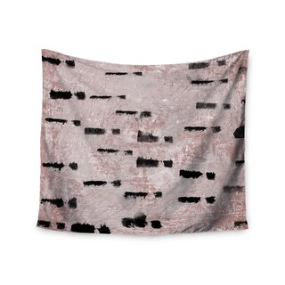 KESS InHouse Iris Lehnhardt 'Texture & Pattern 1' Pink Pattern 51x60-inch Tapestry