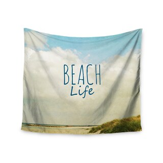 KESS InHouse Iris Lehnhardt 'Beach Life' Beach Blue 51x60-inch Tapestry