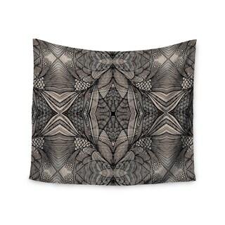KESS InHouse Gill Eggleston 'Fantazia Black' Gray Beige 51x60-inch Tapestry